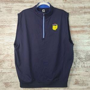 Men's FootJoy Masters Sponsor Nylon vest EUC Golf